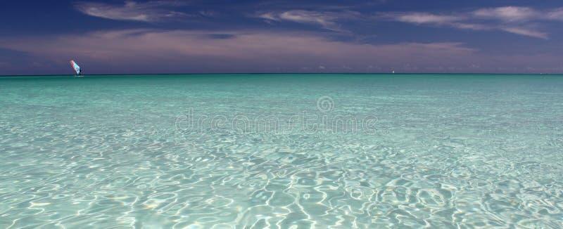Windsurfing w Kuba obrazy stock