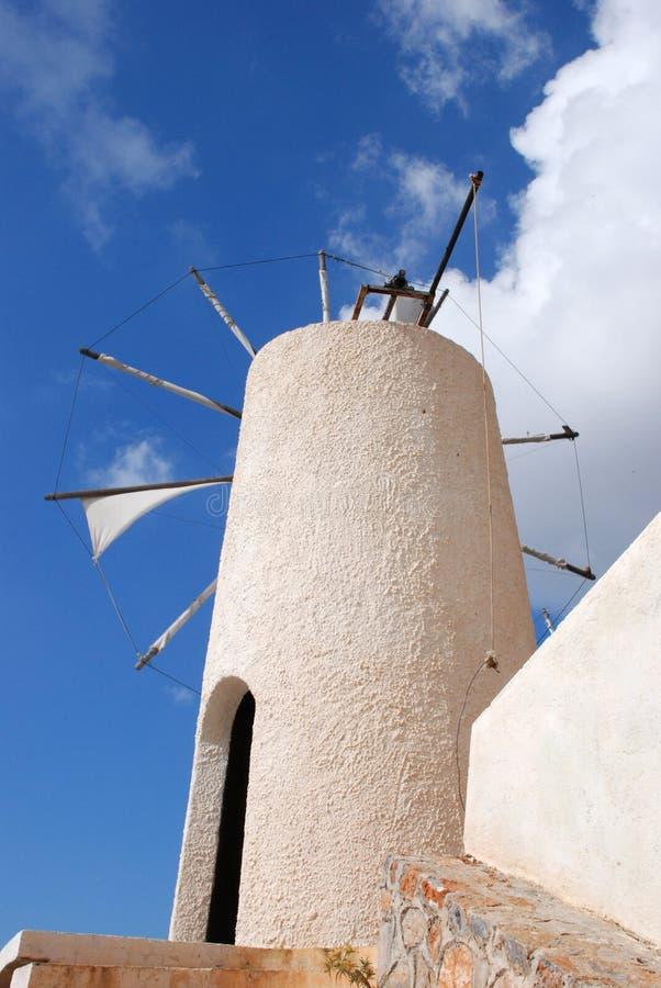 Windtausendstel in Kreta lizenzfreie stockfotografie