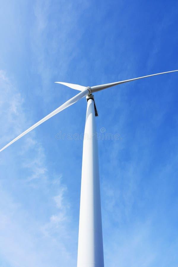 Windturbine, Ness Point, Lowestoft, Suffolk, het UK stock afbeeldingen