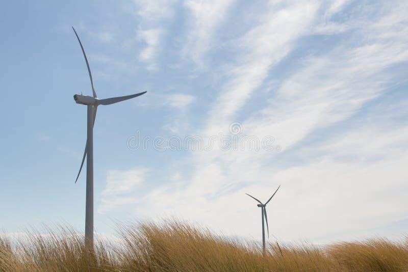 Windturbines images libres de droits