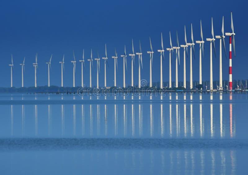 Windturbines royalty-vrije stock fotografie