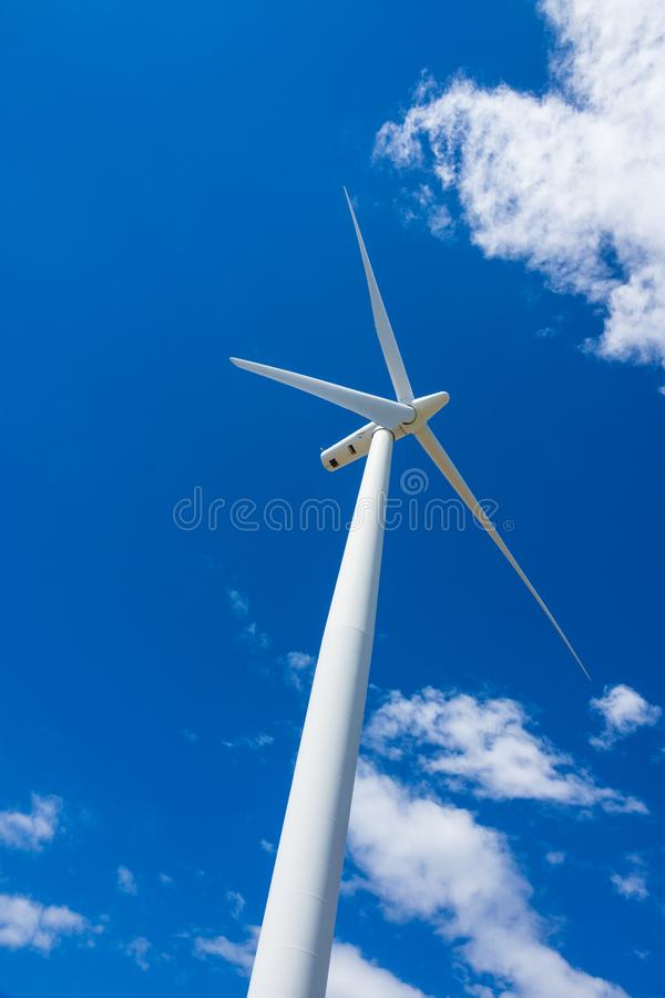 Windturbines en tarwegebieden in Oostelijk Oregon stock fotografie