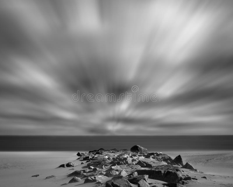 Windy Beach. Was created at Cape Henlopen State park located in Lewes Delaware. This image just won 2nd place in the Delmarva On View Photo Contest and is stock images