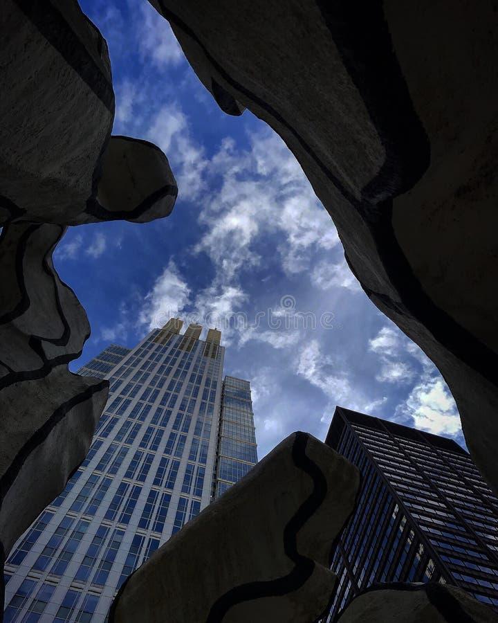 Windy City lizenzfreies stockbild
