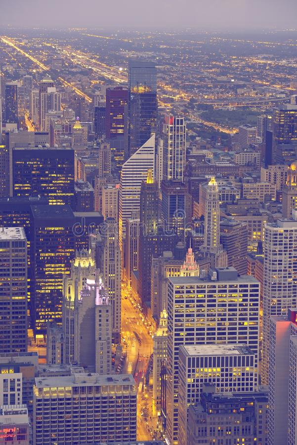 Windy City Chicago stock photography