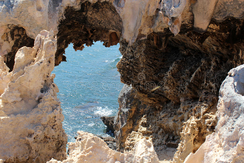 Windy Harbour Cliffs West Australia royalty free stock photography