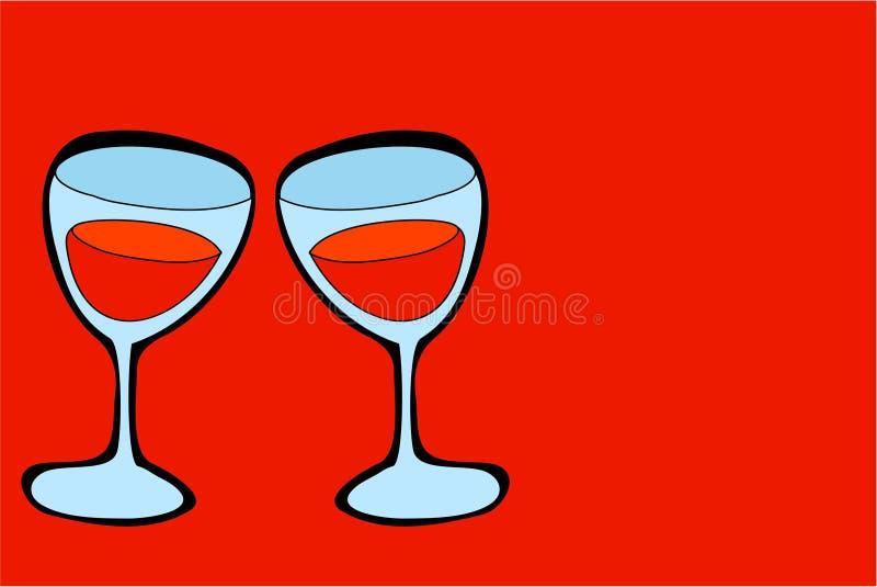 wine vektor illustrationer