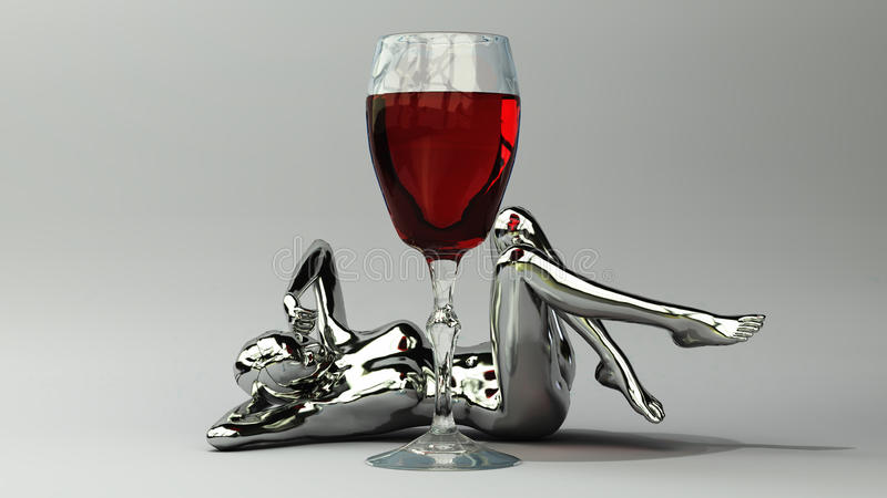Wine royalty free stock image