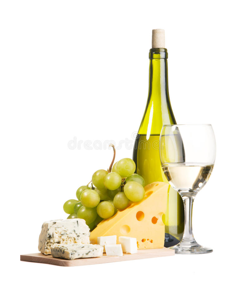 Free Wine And Cheese Stock Image - 12395161