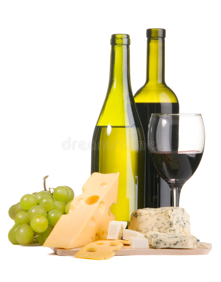 Free Wine And Cheese Royalty Free Stock Image - 12489646