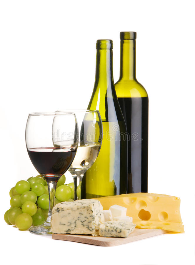 Free Wine And Cheese Stock Photography - 12489652