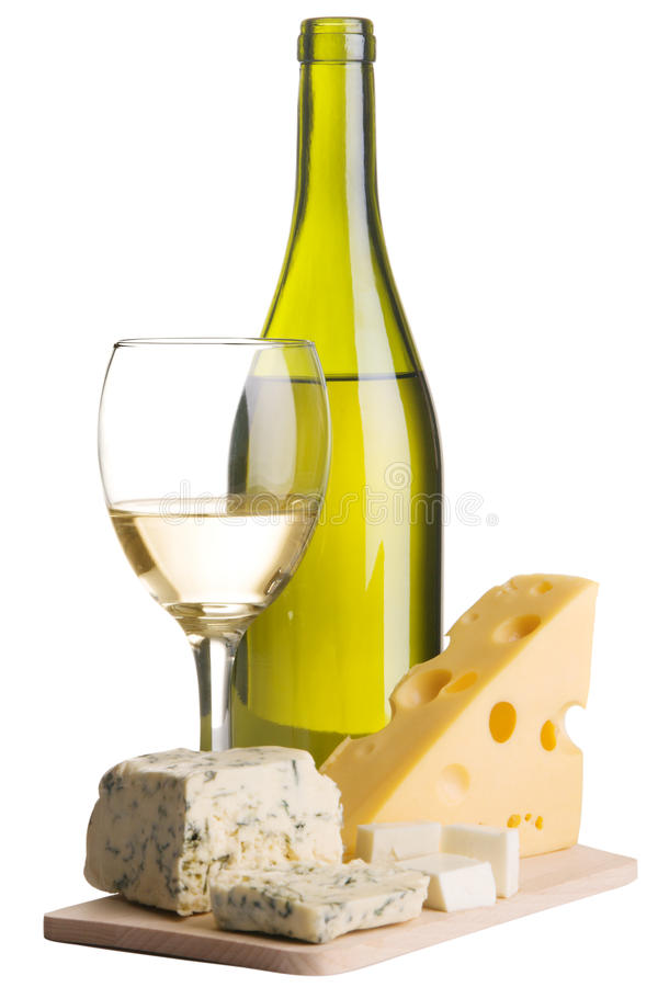 Free Wine And Cheese Still-life Stock Photos - 12444453