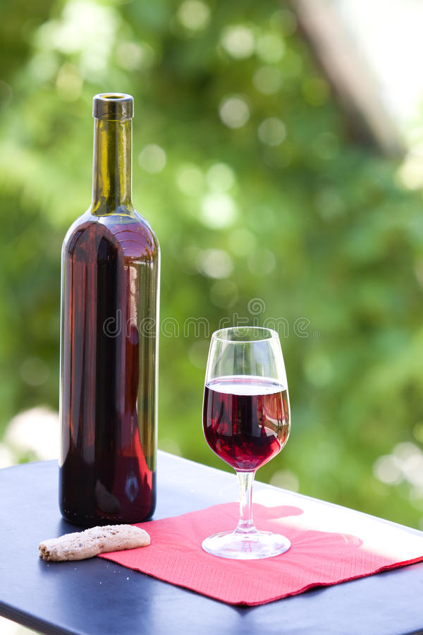 Free Wine At Table Royalty Free Stock Image - 10231236