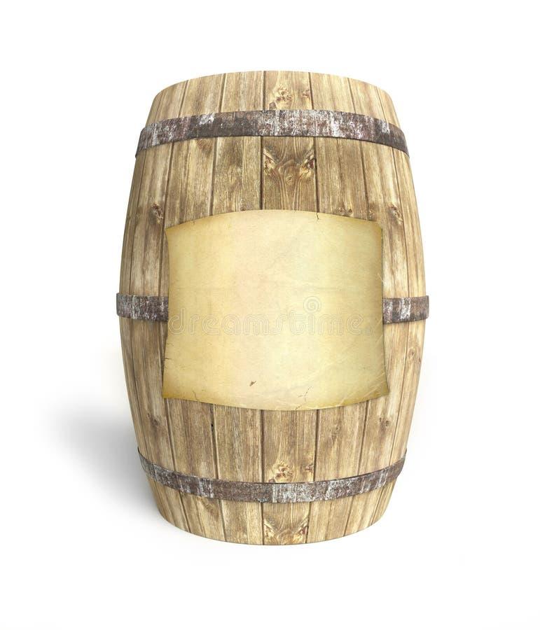 Free Wine Barrel Stock Photography - 13695362