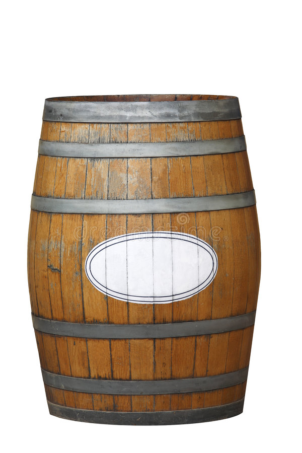 Free Wine Barrel Royalty Free Stock Photography - 9268617
