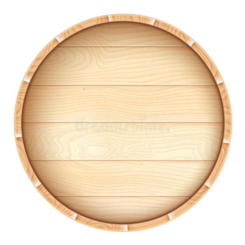 Wine barrel. stock illustration