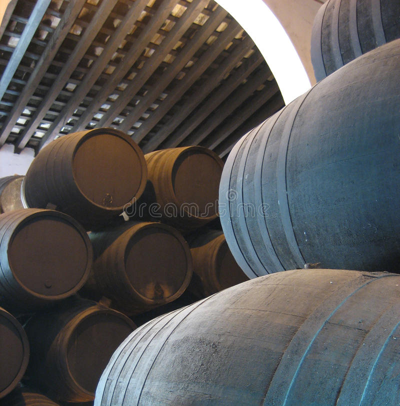 Download Wine Barrels Royalty Free Stock Images - Image: 17476399
