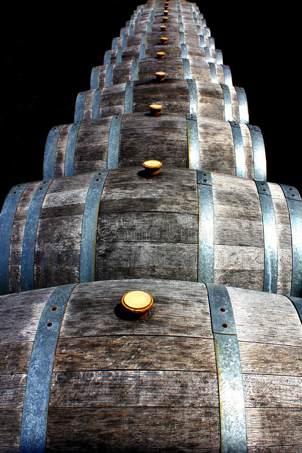 Download Wine Barrels stock photo. Image of pleasure, storage - 17950520