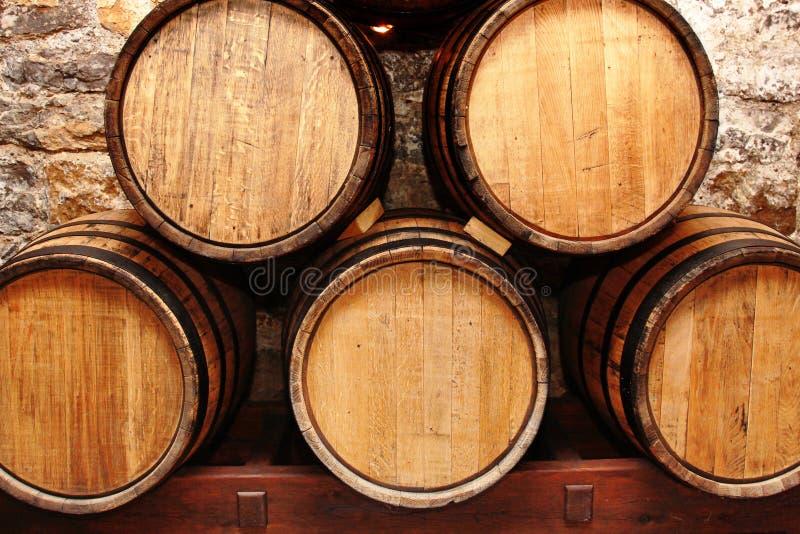 Download Wine barrels stock image. Image of barrel, wooden, wood - 20324359