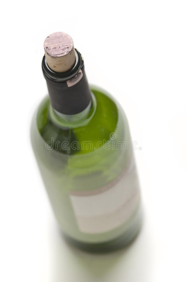 Download Isolated Wine Bottle stock image. Image of perspective - 18361701