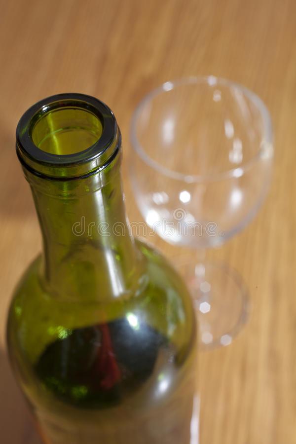 Download Wine Bottle stock image. Image of wine, nobody, table - 36708291