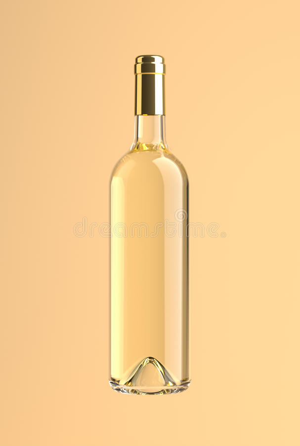 Wine Bottle withe royalty free stock photos