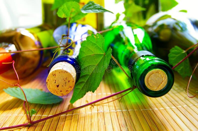 Download Wine bottles stock image. Image of drink, restaurant - 10239205