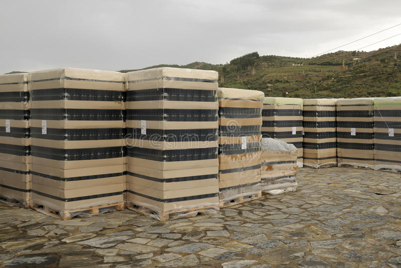 Download Wine bottles stock photo. Image of vineyards, area, turkey - 12275160