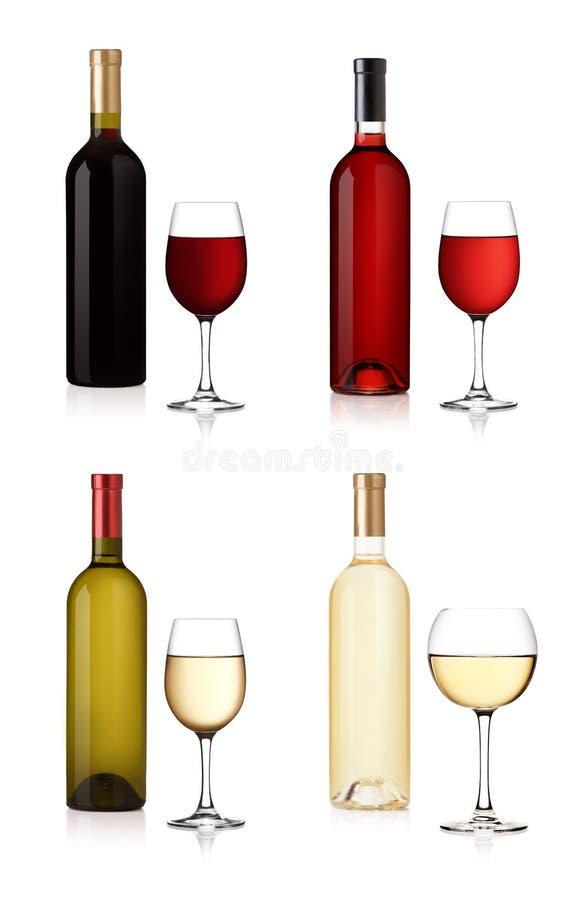 Free Wine Bottles Royalty Free Stock Image - 16744426