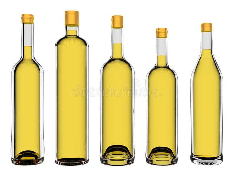 Download Wine bottles stock illustration. Image of drunk, event - 8193107