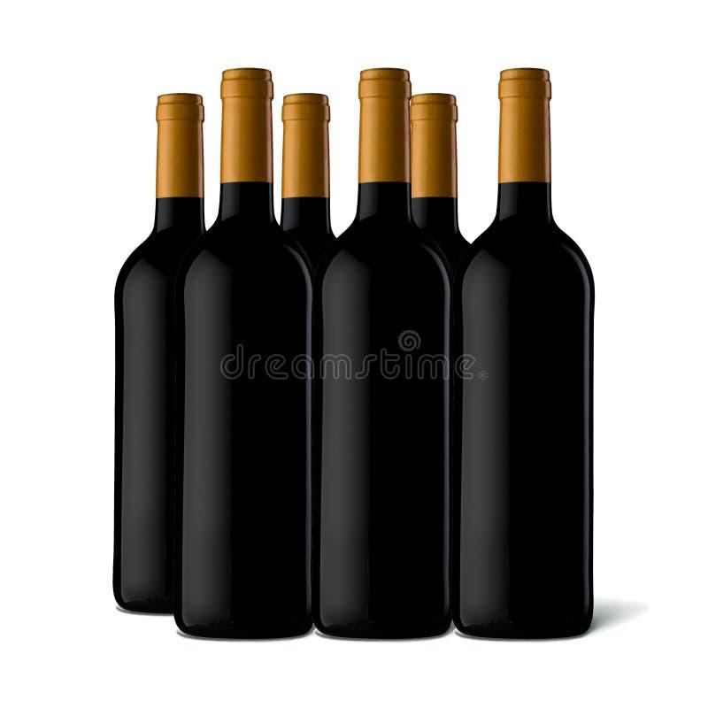 Download Wine bottles stock illustration. Illustration of grapes - 8881801