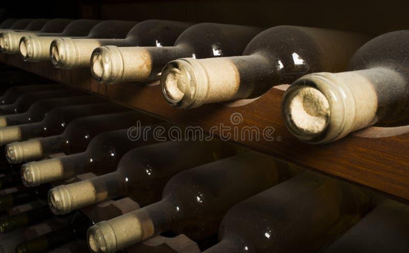 Download Wine bottles on shelf stock image. Image of luxury, liquor - 31369073