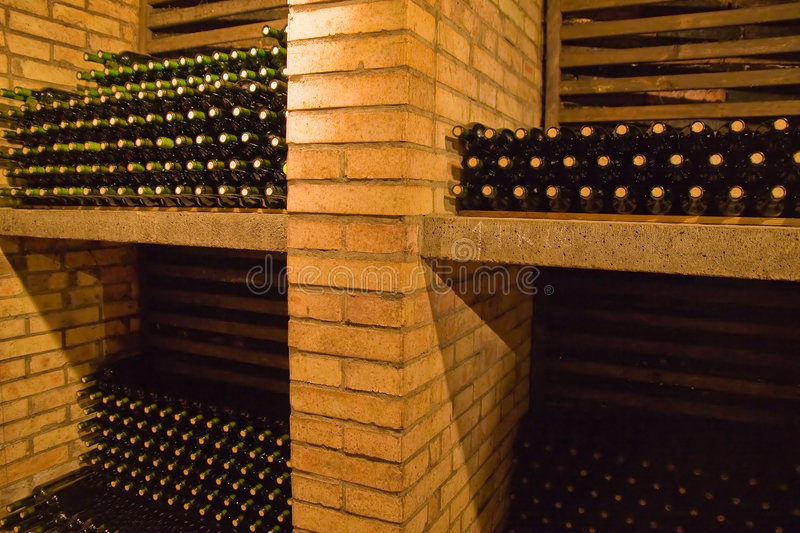 Wine bottles6 royalty free stock images