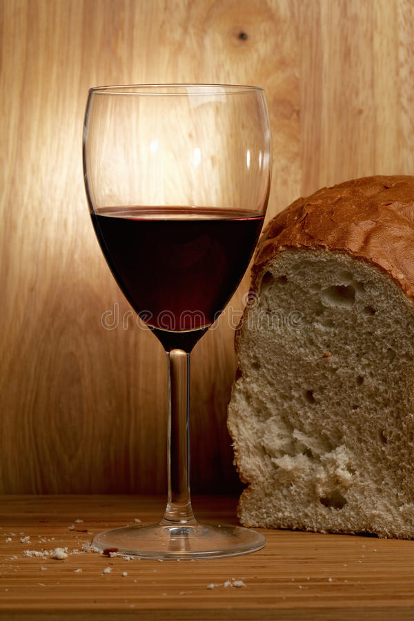 Download Wine and bread stock image. Image of bread, alcohol, negligence - 21683873