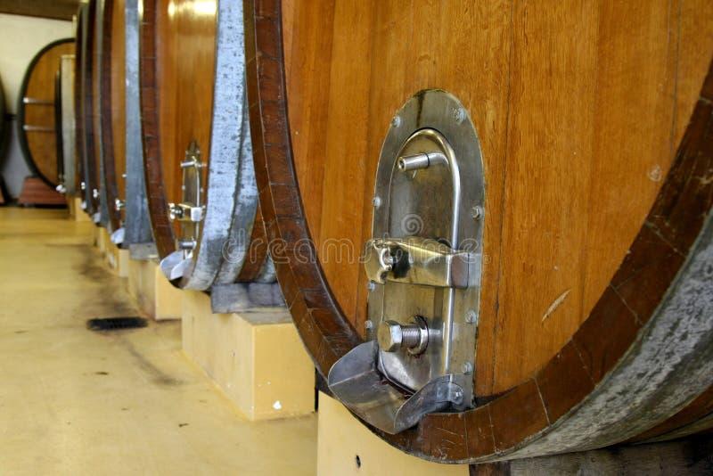 Download Wine Casks or Barrels stock photo. Image of bottle, winetasting - 15848540