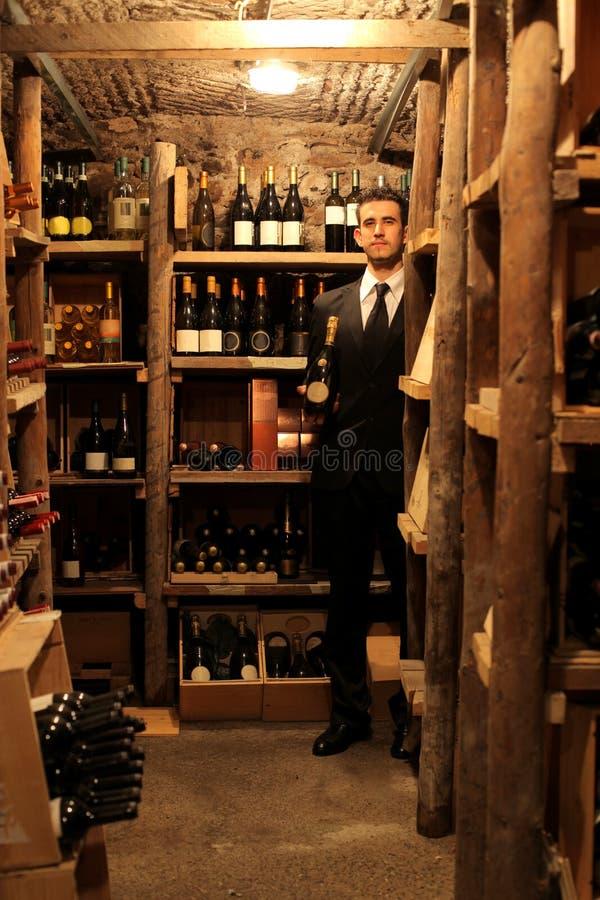 Download Wine cellar stock photo. Image of winery, waiter, work - 15939712