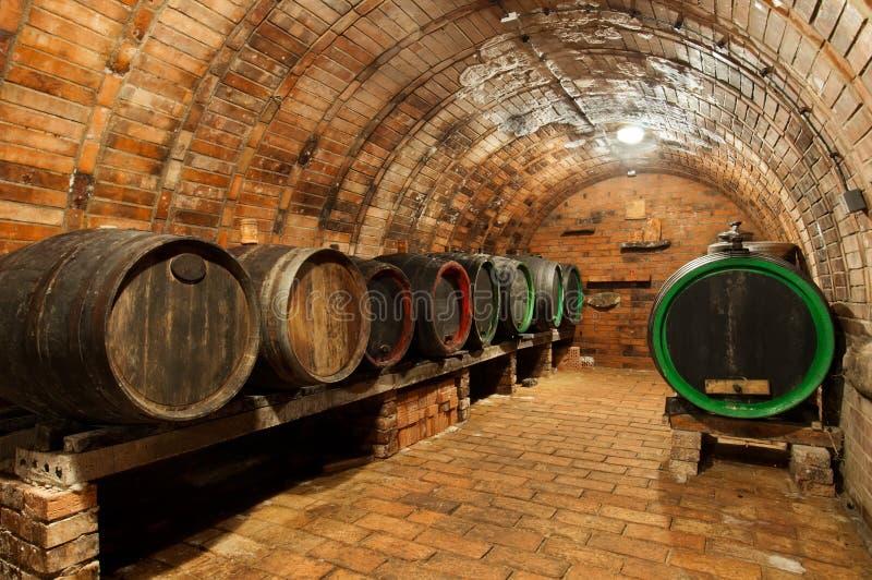 Download Wine Cellar stock photo. Image of antique, barrel, dark - 25644820