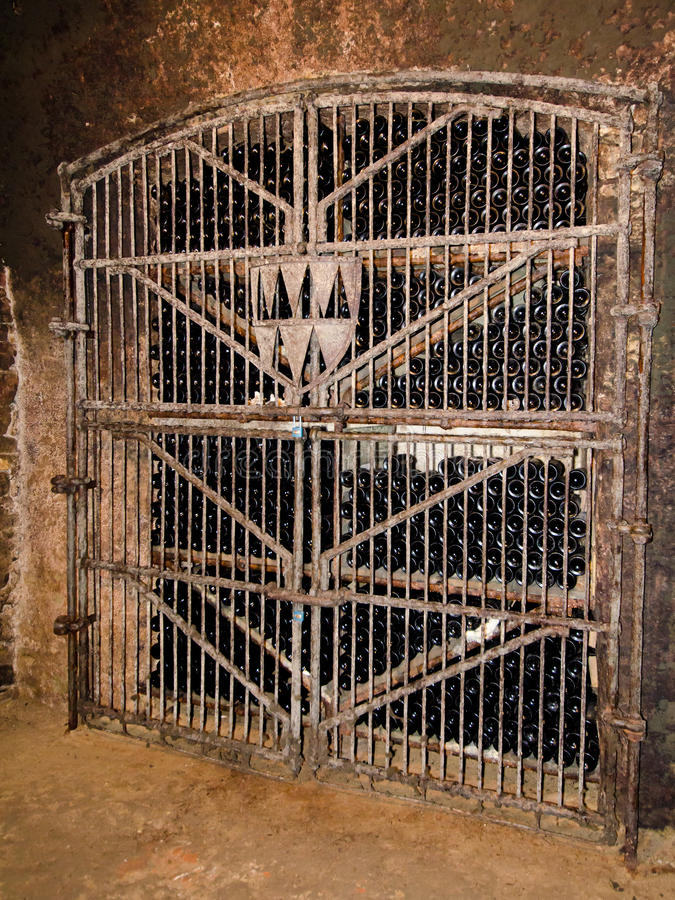 Wine In The Cellar Royalty Free Stock Photography