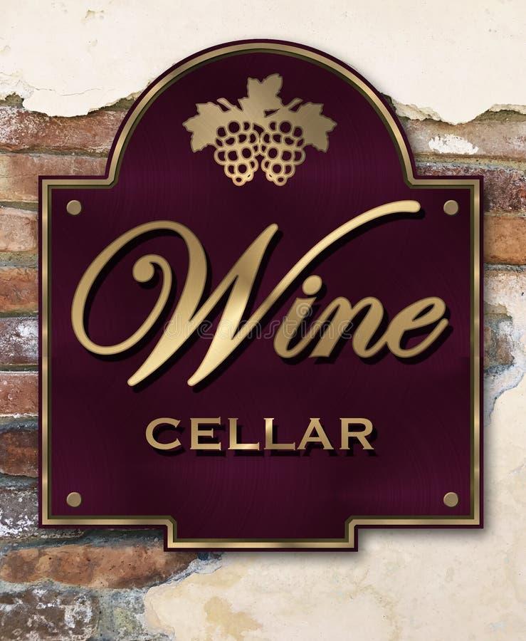 Wine Cellar vector illustration