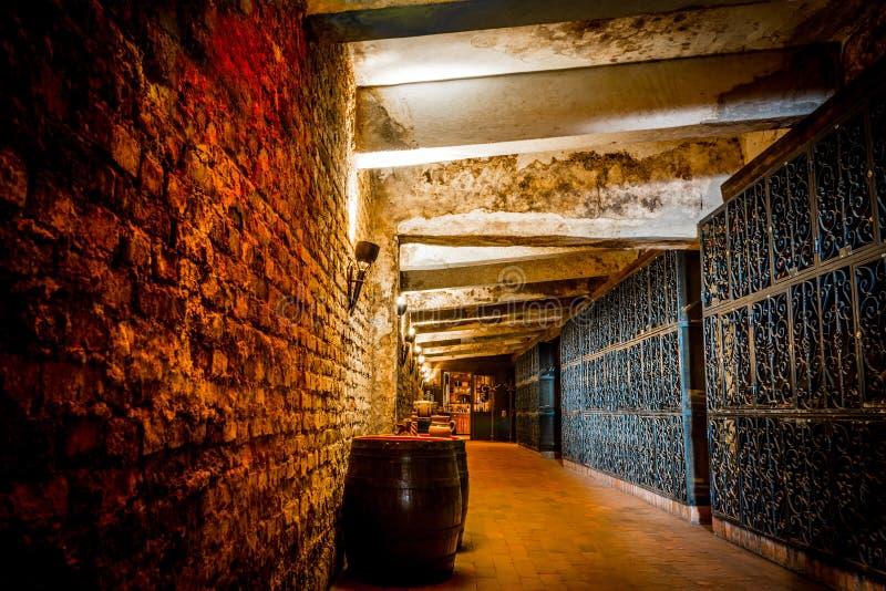 Download Wine Cellar stock photo. Image of romania, light, cellar - 41351936
