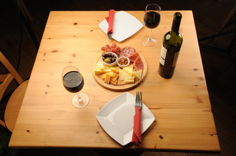 Download Wine and Cheese stock photo. Image of business, serving - 7472258