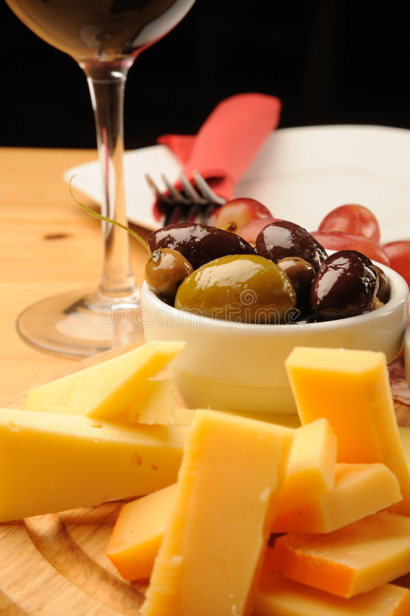 Download Wine and Cheese stock photo. Image of business, bottle - 7473618