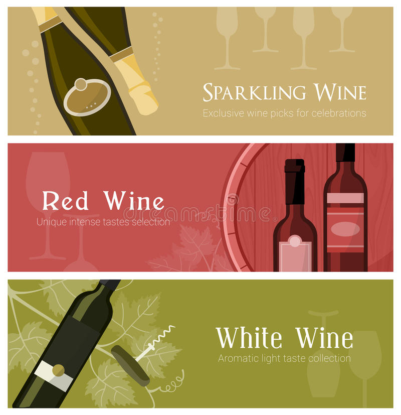 Wine and cheese tasting royalty free illustration