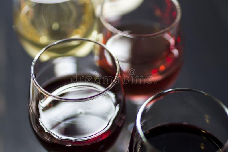 Wine and Chocolates stock photography