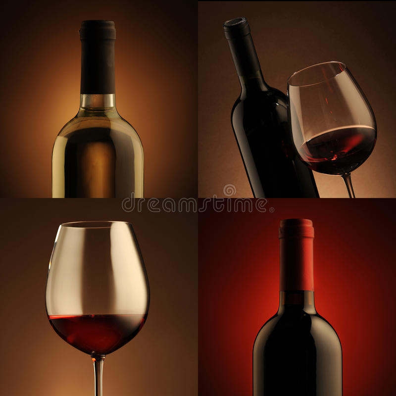 Download Wine collage stock image. Image of collage, life, liquid - 23141101