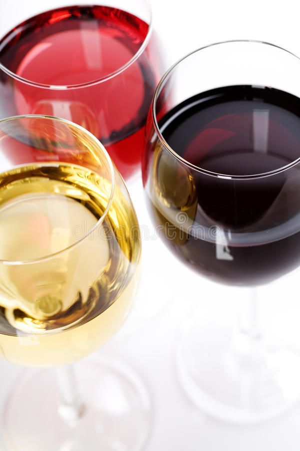 Wine collection royalty free stock photography
