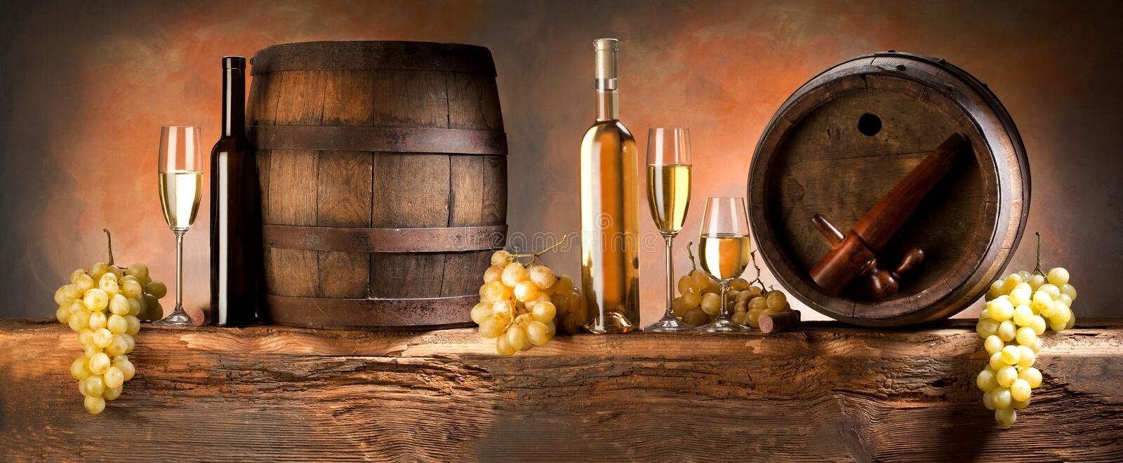 Download Wine composition stock photo. Image of shine, barrel - 22455096