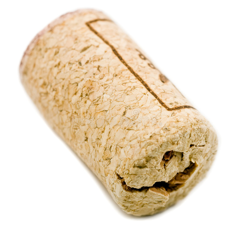 Wine cork royalty free stock photography