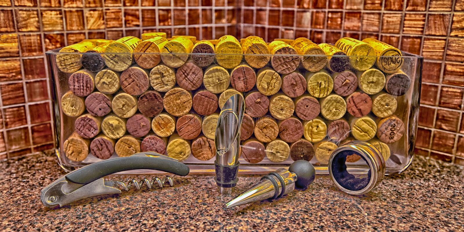 Download Wine Corks & Accessories editorial image. Image of corks - 28660010