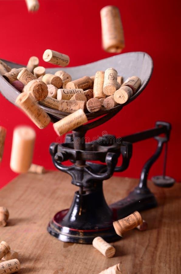 Wine Corks On Scale Free Public Domain Cc0 Image